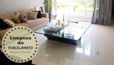 Organize sem Frescuras | Rafaela Oliveira » Arquivos » Como limpar e deixar o piso de Porcelanato brilhando!