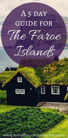 Are you planning a trip to The Faroe Islands? If so, you have to check out this 5 day itinerary of The Faroe Islands complete with sights to see in the Faroe Islands, where to stay in the Faroe Islands, where to eat in the Faroe Islands and much more. This 5 day guide to the Faroe Islands will help you plan your whole trip so you don't miss a thing! Make sure you save this to your travel board so you can find it later.  #faroeislands #islandtips