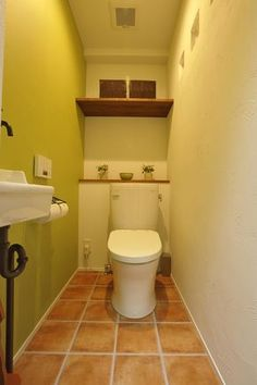 アクセントクロス、トイレ、レストルーム、フロアタイル、リノベーション、