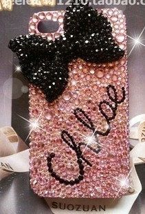 personalized custom your  name Handmade Bling diamond crystal pearl Rhinestone iPhone 6 6 plus  5 5s 5c 4s  Samsung case cover style 2 by Blingsky on Etsy https://www.etsy.com/listing/155791154/personalized-custom-your-name-handmade