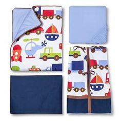 Transportation Baby 10pc Crib Bedding Set by Bacati