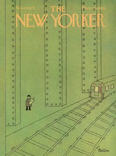 The New Yorker - Monday, November 17, 1975 - Issue # 2648 - Vol. 51 - N° 39 - Cover by : Robert Tallon