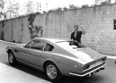 The Aston Martin DBS Brett Sinclair is on the market Housing Aston Martin Dbs, Classic Aston Martin, Tony Curtis, Martin Movie, Ferrari, Sinclair, Bond Cars, Roger Moore, Ford Classic Cars