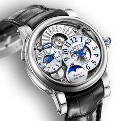 Bovet Dimier Recital 7 Orbis Mundi Moonphase White Gold