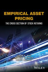 "Empirical Asset Pricing The Cross Section of Stock Returns by Turan G. Bali; Robert F. Engle; Scott Murray ""Bali, Engle, and Murray have created an exceptionally open prologue to the procedures and proof of present day observational resource evaluating. This book ought to be perused and consumed by each genuine understudy of the field, scholastic and expert."" Eugene Fama, Robert R. McCormick Distinguished Service Professor of Finance, University of Chicago and 2013 Nobel Laureate in Economic…"