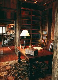 Library...too perfect! Pretty much my most favorite of all in the history of ever! Imagine being snowed in!