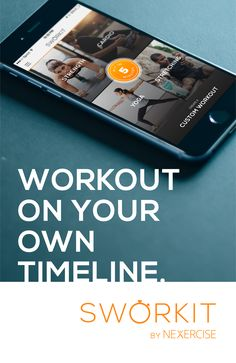 Workout on your own Timeline. #NoGymNoExcuse