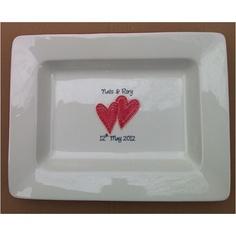 Signature platter