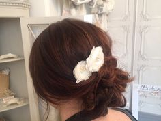 flower wedding hair pins by Ophelia May, Whimsical wedding hair inspo,  Holmfirth West Yorkshire 01484 766160