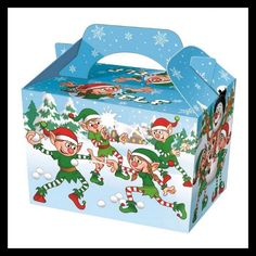 10 Christmas Gift Boxes Cardboard Gift Present Box Case Elf Decoration Party  in Home, Furniture & DIY, Celebrations & Occasions, Gift Wrapping & Supplies | eBay!