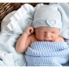 Newborn hospital hat: newborn girl/bay girl or newborn boy/baby boy. You will have the ONLY newborn hat GUARANTEED to fit & stay snug to all