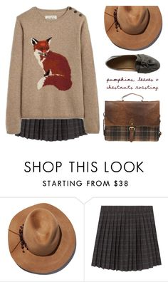 """""""Foxy"""" by kearalachelle ❤ liked on Polyvore featuring Eugenia Kim and ASOS"""