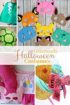 Handmade Halloween Costumes-If you don't have time to make your costumes, try…
