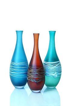 David Royce - Satin Series: Teardrop Vase