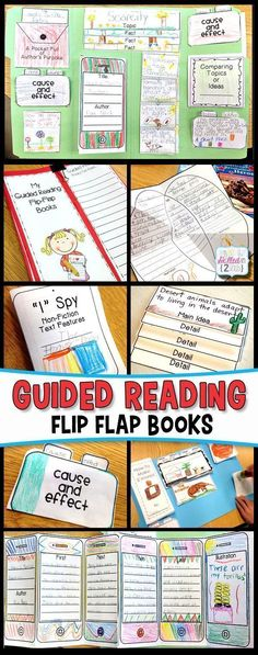 Guided Reading L.O.V.E. - Simply Skilled in Second #guidedreading #flipflapbooks #secondgrade #teachingresources