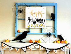 Art by Erin Leigh: DIY Halloween Sign