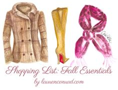Shopping List: Lauren Conrad's Fall Fashion Essentials