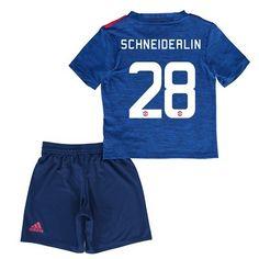 Děti Manchester United 16-17 Morgan Schneiderlin 28 Venkovní Krátký Rukáv #Fotbalové    #dresy  #levně