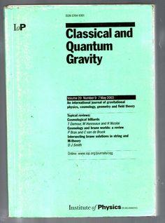 Публикации в журналах, наукометрической базы Scopus  Classical and Quantum Gravity #Classical #Quantum #Gravity #Journals #публикация, #журнал, #публикациявжурнале #globalpublication #publication #статья