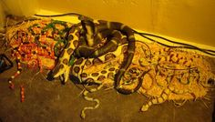 pile of snakes for the swamp shack