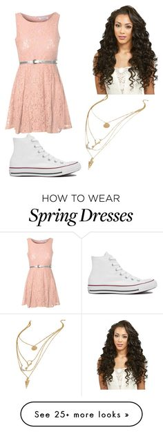"""Photograph"" by yung-faithd on Polyvore featuring Glamorous and Converse"