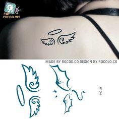 tatuajes de alas de angeles - Buscar con Google