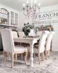Personalized Tavern Name Sign - Modern Farmhouse Family Name Sign rooms room ideas paint colors room sets dining rooms room ideas farmhouse dining room ideas Dining Room Colors, Dining Room Walls, Dining Room Design, Living Room Decor, Dining Area, Round Dining, Dinning Room Sets, Small Dining, Design Kitchen