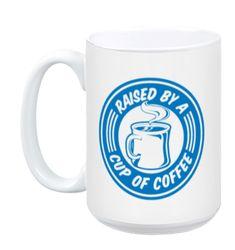office space coffee mug. Raised By A Cup Of Coffee Office Space Mug