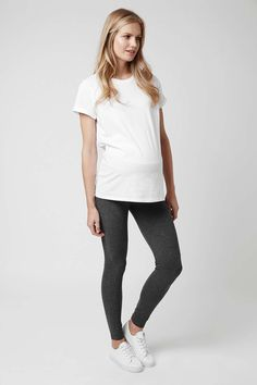 White Maternity Top