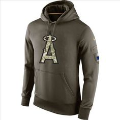 a7e23ca99 Men s San Diego Chargers Green Salute To Service 2015 NFL Nike Hoodie  Cowboys Taco Charlton 97 jersey