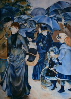 """Renoir- """"Los paraguas"""""""