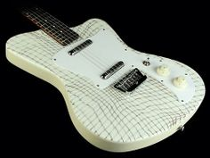 Love this guitar: DANELECTRO '67 HEAVEN ELECTRIC GUITAR ALLIGATOR (REISSUE) IN CREME.