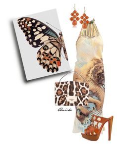 """""""4/5 butterflies 5"""" by quicherz ❤ liked on Polyvore featuring Roberto Cavalli, Jimmy Choo, Christian Louboutin and 1st & Gorgeous by Carolee"""