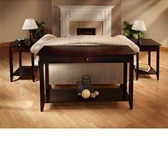 Madison Avenue Sofa Table   3-pc Set