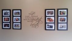 On my dining room wall!