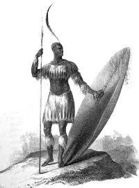 Top 10 Most Influential African Rulers, Kings and Emperors - Shaka Zulu is without any doubt the most recognizable native born kind from South Africa. His efforts to unify the Zulu Kingdom mark him as one of the greatest Zulu kings. Zulu Warrior, Warrior King, History Online, World History, Art History, African Culture, African History, Kwazulu Natal, British Soldier