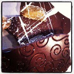 Dark Chocolate and Ginger Bark