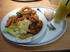 Meal from Tibits, London