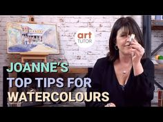 Top Tips & Tricks for Better Watercolour Paintings by Joanne Boon Thomas - PaintingTube Learn Watercolor Painting, Kids Watercolor, Watercolor Video, Watercolor Sunset, Watercolor Painting Techniques, Watercolour Tutorials, Painting For Kids, Painting Tips, Painting & Drawing
