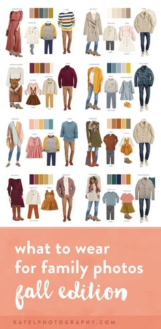Fall Family Picture Outfits, Family Picture Colors, Family Photos What To Wear, Winter Family Photos, Family Photos With Baby, Fall Family Photo Outfits, Fall Photo Shoot Outfits, Family Photo Clothing, Family Picture Clothes