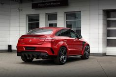TopCar presents GLE Coupe 450 AMG Inferno.