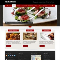55+ Best Responsive Restaurant WordPress Themes | Designrazzi
