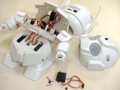 RAPIRO: The Humanoid Robot Kit for your Raspberry Pi by Shota Ishiwatari — Kickstarter