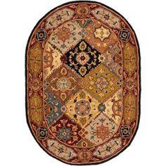 Safavieh Heritage Regius Hand-Tufted Wool Area Rug, Multicolor