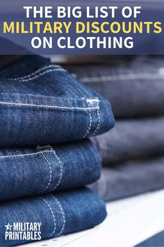 Jeans have become a fashion must for every person. Planet Jeans offer quality at the lowest prices in Central Java. More info: 0813 2647 4121 Military Spouse, Military Life, Military Surplus, Military Personnel, Military Benefits, Black Friday Shopping, Old Things, Things To Sell, Article Design