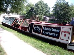 Roger - our historic working boat will take pride of place on the towpath www.rwt.org.uk