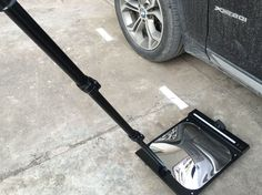 Under vehicle search mirror for searching the hidden things under vehicle Walk Through Metal Detector, Scanning Machine, Security Equipment, Surveillance System, Searching, Vehicle, Home Appliances, Mirror, House Appliances