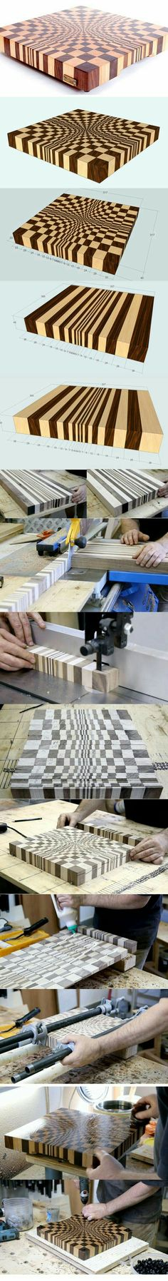 Patterns and Plans Used in Carpentry - Woodworking for Beginners Wooden Projects, Wood Crafts, Diy And Crafts, Diy Projects, End Grain Cutting Board, Wood Cutting Boards, Chopping Boards, Wood Working For Beginners, Wood Turning