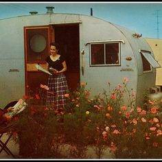 Vintage Camper - Back in the Day!