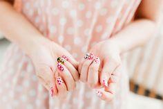 Yayoi Kusama manicure